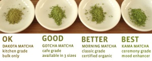 Matcha tea is available in multiple=