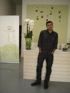 Olly Blackburn at Matcha Source in Los Angeles