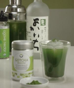 Gotcha Matcha-tini with Soju - Alcoholic Drink Recipes: Low-Calorie Mixed Drinks for Valentine's Day - Shape Magazine - Page 4