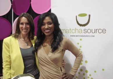 Me and Danielle Knox of Balancing Act at Southern Women's Show in Jacksonville, Florida