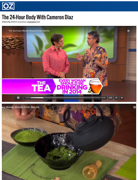 """The tea every woman should drink,"" As seen on Dr. Oz with Chris Kilham"
